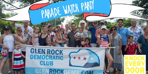 4th of July with the Glen Rock Dems (watch or march)