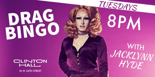 Drag Bingo With Jaclynn Hyde