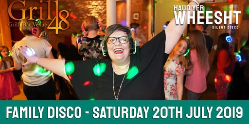 HYW Family Silent Disco at Grill48