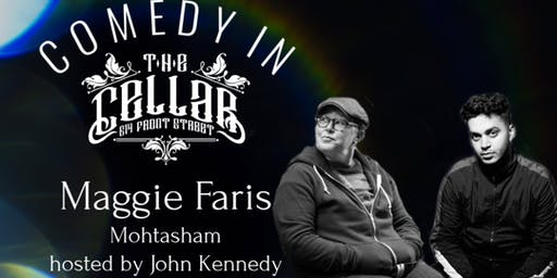 Comedy in The Cellar - Maggie Faris