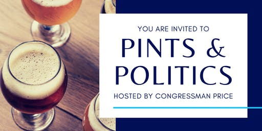Durham - Pints & Politics with Rep. Price