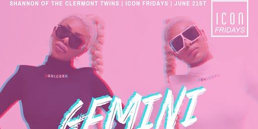 Icon Fridays Presents: Gemini SZN