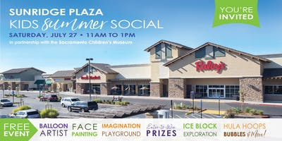 Kids Summer Social at Sunridge Plaza