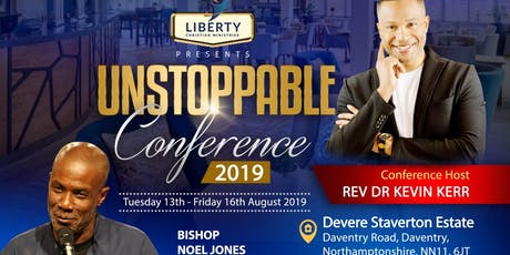 UNSTOPPABLE CONFERENCE 2019 tickets