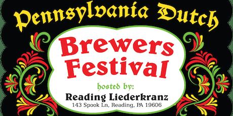 2019 Pennsylvania Dutch Brewers Festival tickets