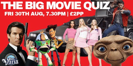 The Big  Movie Quiz  tickets