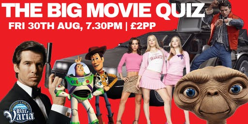 The Big  Movie Quiz