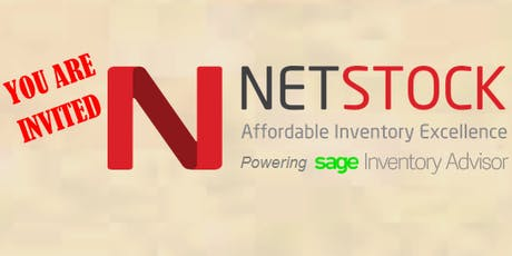 NETSTOCK / Sage Inventory Advisor Inventory Bootcamp - San Diego, CA tickets