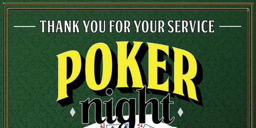 Thank You For Your Service Veteran Poker Night