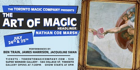 The Art of Magic with headliner Nathan Coe Marsh tickets
