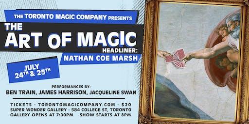 The Art of Magic with headliner Nathan Coe Marsh