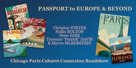 Passport to Europe & Beyond - Dinner & Concert - CPCX Roadshow tickets
