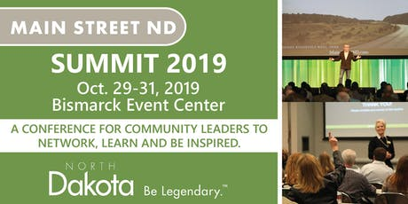 2019 Main Street ND Summit tickets