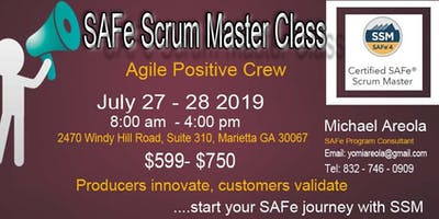 SAFe Scrum Master Certification Training