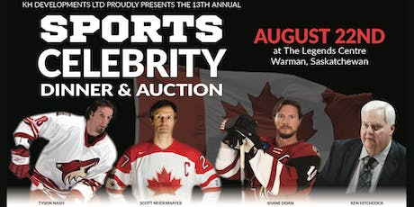 WSCV Sports Celebrity Dinner and Auction tickets