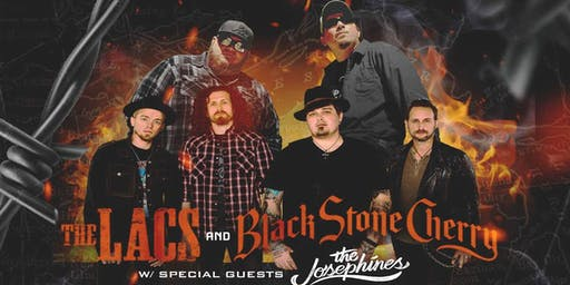 The Lacs with Black Stone Cherry at Tackle Box - Chico