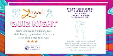 Zawadi Quiz Night tickets