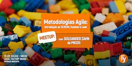 Meetup #85: Metodologias Agile - introdução ao SCRUM, Kanban e Lean bilhetes