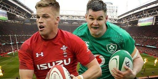 Wales vs Ireland - RWC Warm up game