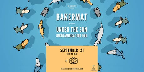 Bakermat at Sax (21+) tickets