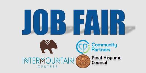 Job Fair - Intermountain Centers/Community Partners/Pinal Hispanic Council
