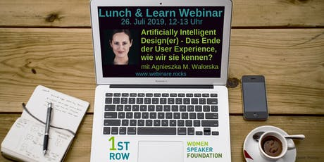 "Live-Webinar ""AI Design(er). Das Ende der User Experience?"" mit Agnieszka Maria Walorska Tickets"