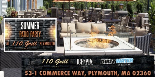Summer Patio Party at 110 Grill Plymouth