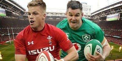 Ireland+vs+Wales+-+RWC+Warm+up+game