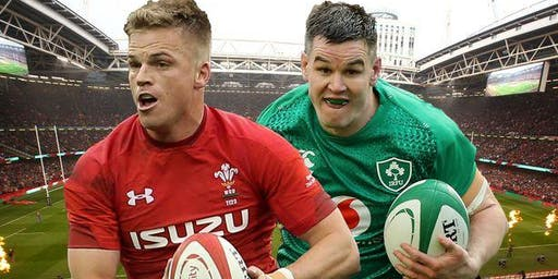 Ireland vs Wales - RWC Warm up game