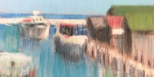 Simply Drawn - Abstract Pastel Workshop with Judy Tummino