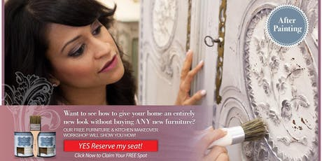 FREE Fundamentals of Transforming your Home w Amitha Verma Chalk Finish Paint 10:30am tickets