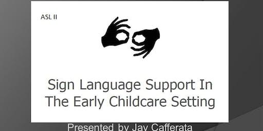 ASL II- Vocabulary Class