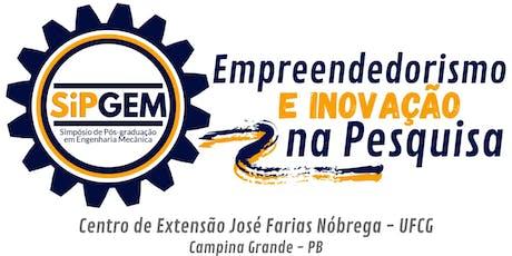III Simpósio de Pós-Graduação em Engenharia Mecânica ingressos