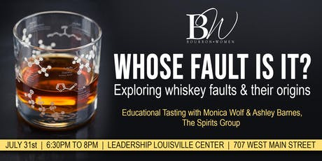 """Whose Fault Is It?"" Exploring Whiskey Faults & Their Origins tickets"