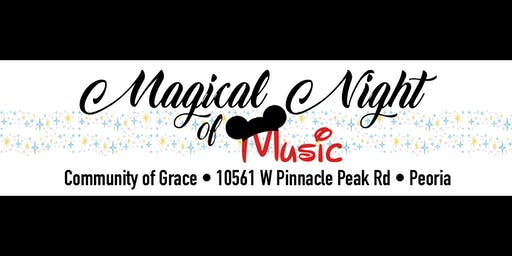 Magical Night of Music Sunday 2:00pm