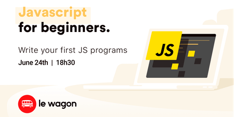 JavaScript for Beginners - Free workshop with Le Wagon Rio tickets