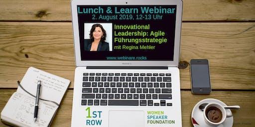 "Live-Webinar ""Innovational Leadership"" mit Regina Mehler"