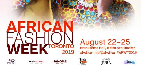 African Fashion Week Toronto  tickets