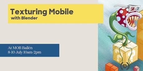 Introducción al texturizado mobile con Blender entradas
