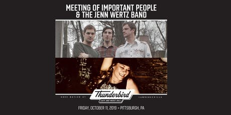 Meeting of Important People & The Jenn Wertz Band tickets