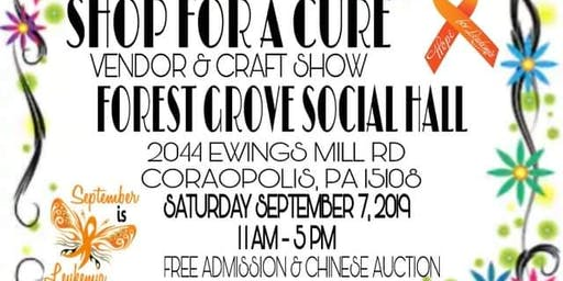 SHOP FOR A CURE - VENDOR & CRAFT  SHOW