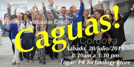 Aprenda Rectificar Credito-Caguas tickets