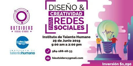 Diseño y Creatividad para Redes Sociales boletos