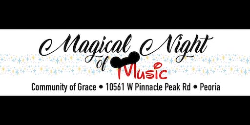 Magical Night of Music Sunday 5pm