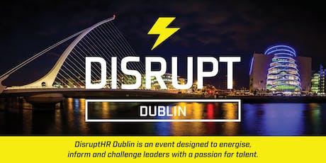 DisruptHR Dublin 2019 tickets