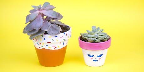 FamilyJAM: Paint and Pot Cute Succulents tickets