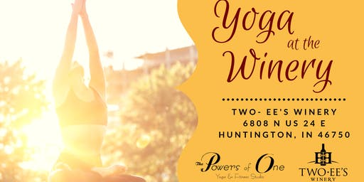 Yoga at the Winery - July 2019