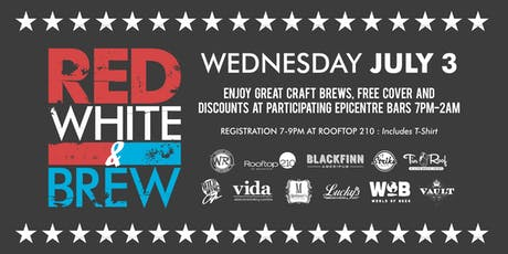 Red, White, and Brew Bar Crawl tickets