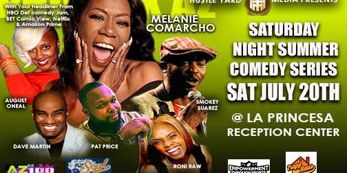 The Saturday Night Summer Comedy Series!