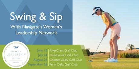 Swing & Sip 2019 - Overbrook Golf Club (RSM Co-Sponsor) tickets